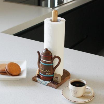 커피포트 키친타올 꽂이