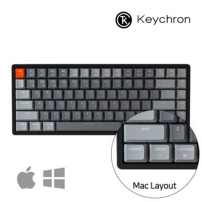 [키크론] K2 무선 기계식 키보드/84키 애플 블루투스