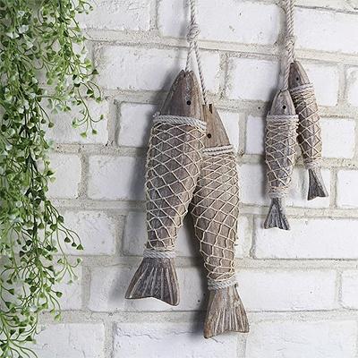 [콩지] 나무 물고기 장식 대