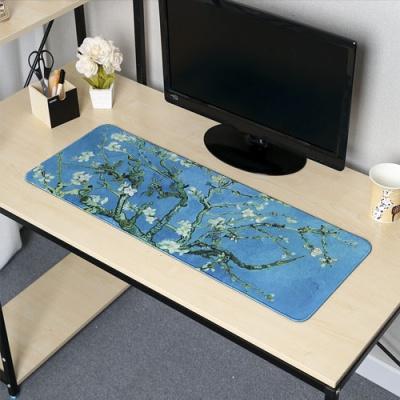 꽃피는 아몬드나무 대형 마우스패드(80x30cm)