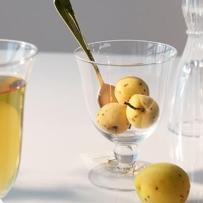 [N365] 라마틴 플로트 고블렛잔 로우 투명