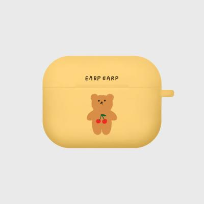 Cherry big bear-yellow(Air pods pro)