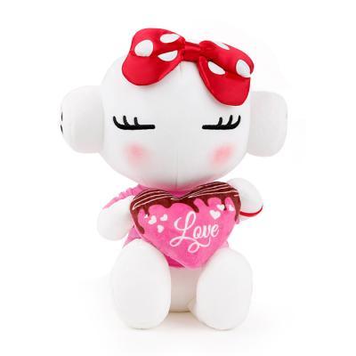 또로와로로 로로 발렌타인데이 하트 인형(중 30cm)