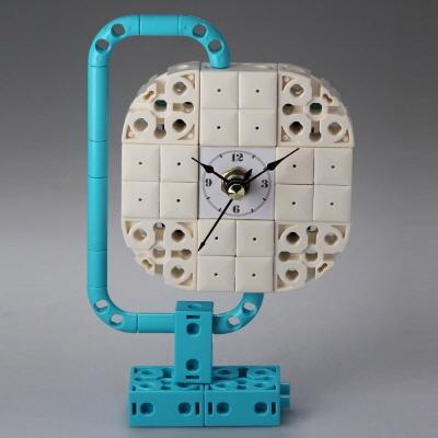 지구본1 (170307) 블럭시계,블럭레고형시계,조립시계