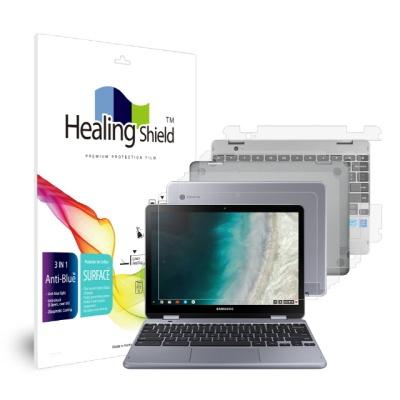 삼성 크롬북 플러스 V2 블루라이트차단 1매 외부3종