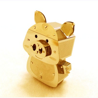 [이노메탈퍼즐] 돼지 금속조립키트 (MIK000638)메탈웍스
