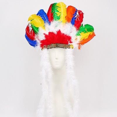 인디언추장 모자
