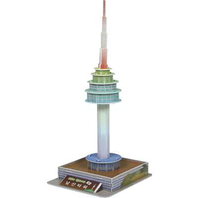 랜드마크 입체퍼즐 - N 서울타워 (LED)