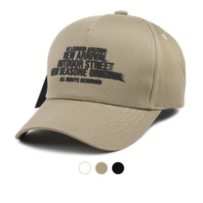 [디꾸보]레터링 볼캡 벨크로 모자 ET712