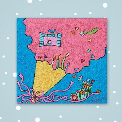 [카드] 축복의선물3 캘리그라피 카드