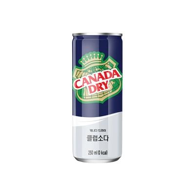 캐나다 드라이 클럽소다 250ml 30캔