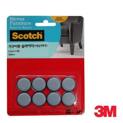 3M 스카치 가구 이동 슬라이더(카펫&마루용) SP643