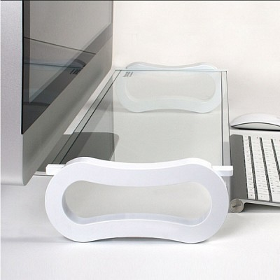 아이루iroo 아이보드심플(I-BOARD SIMPLE WHITE and BLACK) 노트북 LCD 태블릿 선반 강화유리(I-BOARD SIMPLE)