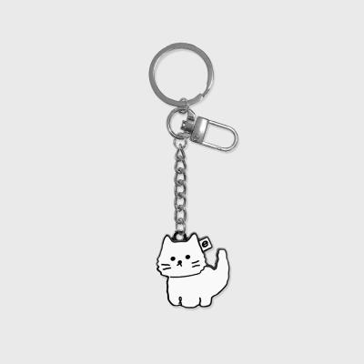 Awesome cat(금속 키링)