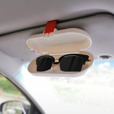 안경 카드수납 썬바이저 차량용 선글라스 케이스 Jack