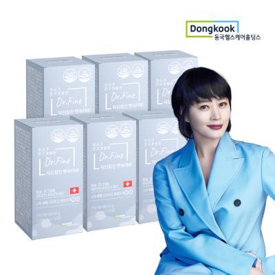 닥터화인 뼛속Fine/칼슘 (1300mg x 120정) 6개