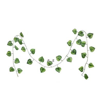 IS 초록 잎사귀 넝쿨 장식