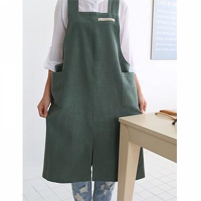 [콩지] 베이직 모던 숄더 앞치마