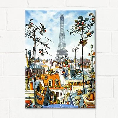 1000조각 직소퍼즐▶ 파리의 하루 (HE29358)