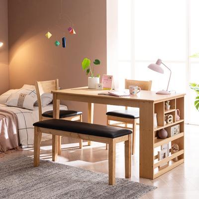 [채우리] 그라티아 4인 수납 식탁 세트(의자/벤치)