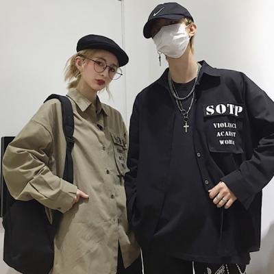 UP SOTP 포켓 오버핏 셔츠