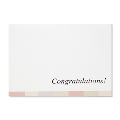 홀마크 축하 카드(파스텔띠)-KED1554