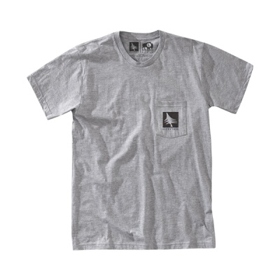 [히피트리] Night Owl Tee - Heather Grey