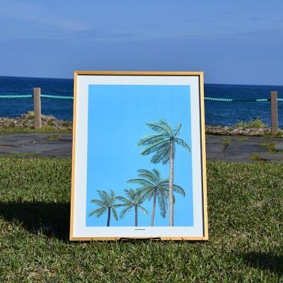 [카멜앤오아시스] Hawaiian Sky 하와이 야자수 포스터