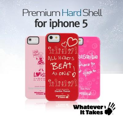 [1+1 케이스선택] [whatever it takes]독점공식수입원 아이폰5/5S/iphone5/5S  하드케이스-샤를리즈테론 조지클루니 외 16종