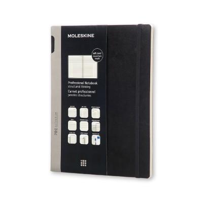 몰스킨 프로페셔널 노트/블랙 소프트 XL 몰스킨 (몰스킨)