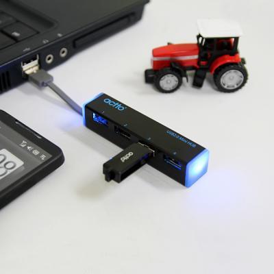 ACTTO/엑토 울트라 슬림 USB 허브 HUB-13