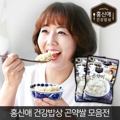 홍신애 건강밥상 곤약미 곤약쌀180g 3봉