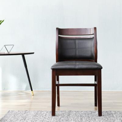 [이노센트플러스] 리브  로안 인조가죽 원목 의자(1+1)