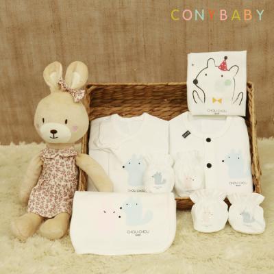 [CONY]신생아선물7종세트(파티+베순이애착인형)