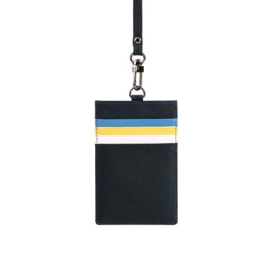[천연송아지가죽] 카드케이스 목걸이 포인트 2 Color