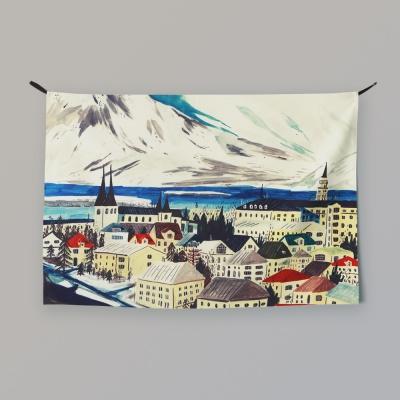 패브릭 포스터 / 아이슬란드