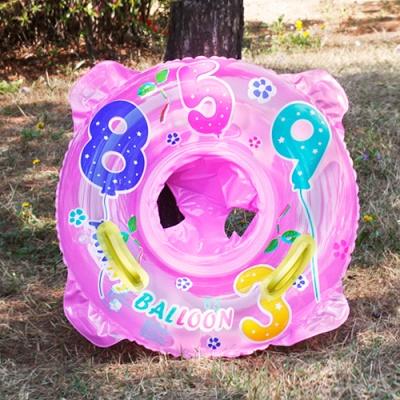 65cm 보행기 튜브 (핑크) (3-4세용)