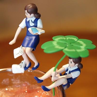 컵 위의 후치코 파트3 / 블루 (랜덤)