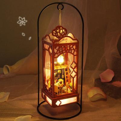 [adico]DIY 미니어처 램프하우스 - 달빛식탁