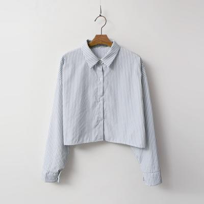Stripe Crop Shirts