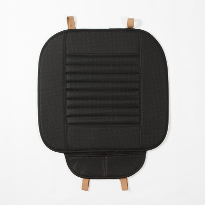 사계절 대나무숯 자동차 방석(블랙)