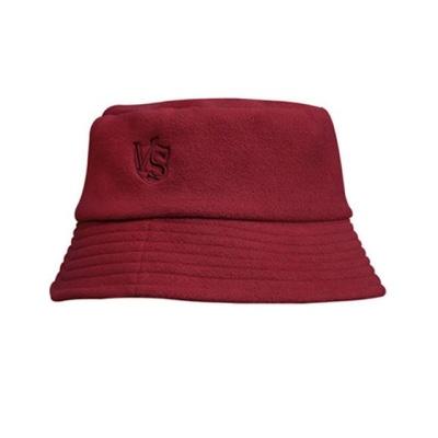 버켓햇 방한 겨울 모자 벙거지 레드