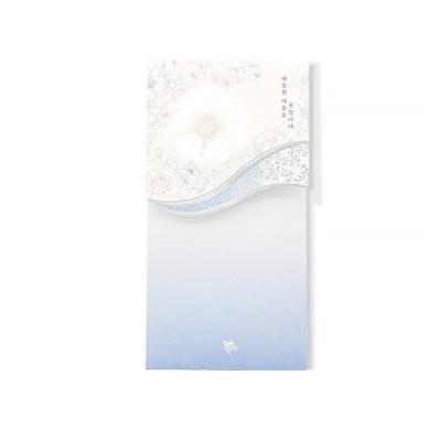 020-ME-0047 / 꽃단아 축하봉투 (옐로우)