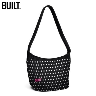 [빌트뉴욕] 호보 숄더 런치토트 (Hobo Shoulder Lunch Tote-Mini Dot Black and White) / LB17MBW