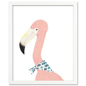 [Millim] Zoo_frame_Flamingo_6호