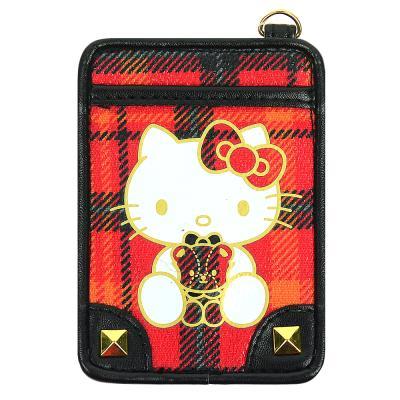 (일본직수입) 헬로키티 40주년 스페셜 체크 카드지갑