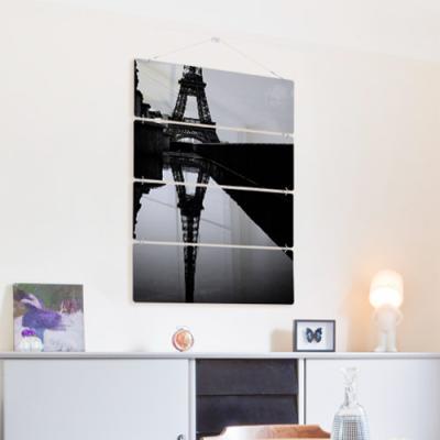 nk396-멀티아크릴액자_물에비친에펠탑(4단대형)