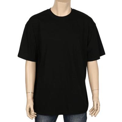 남성 여성 여름 데일리 반팔 티셔츠 라운드 오버핏