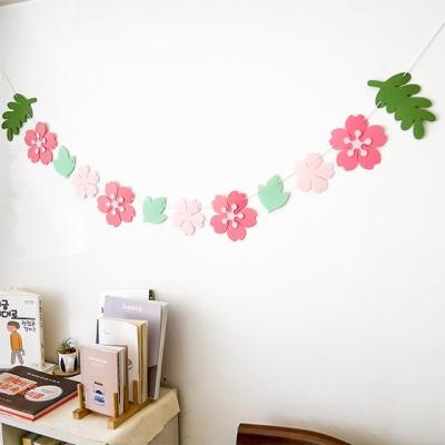 벚꽃엔딩 가랜드