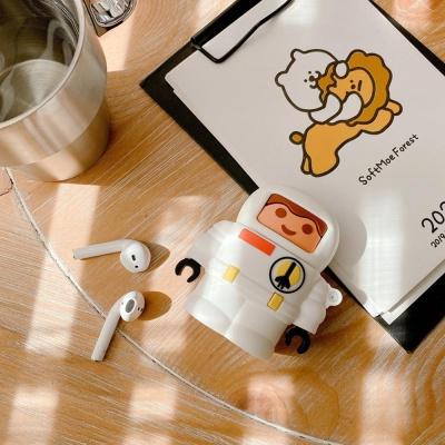 에어팟 1 2 장난감 캐릭터 실리콘 케이스_456 우주인1